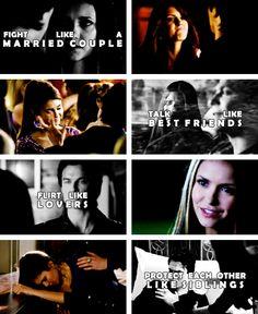 ♥ Damon and Elena