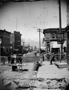 State Street in Leadville, Colorado :: Western History  The notorious part of town where The Pink Petticoat is located.