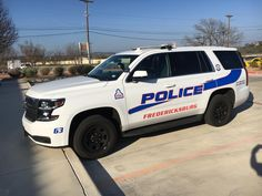 Fredericksburg Police Department Chevy Tahoe (Texas)