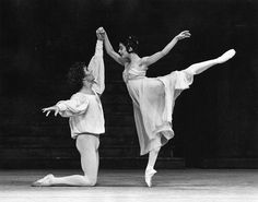 Alessandra Ferri and Wayne Eagling in the 1984 revival