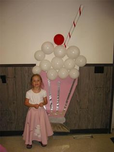 We had a Back to the birthday party for my mom who turned The theme colors were pink, aqua, and black. Here are some of our birthday party 50s Theme Parties, 70th Birthday Parties, 50th Birthday Party, Anniversary Parties, 1950s Theme Party, Retro Birthday, Birthday Ideas, Grease Theme, Grease Party