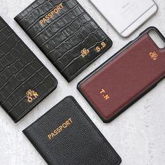 Serap Aktug Leather Accessories . #unisex #lifestyle #initial #personalize #iphonecase #iphonecover #passportcovers #wallet #slimwallet #cuzdan #kartlik #deriiphonekilif #dericuzdan #aksesuar #kisiyeozel #harfbaski
