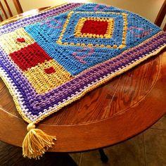 Magic Carpet! :) #crochet #aladdin #etsy