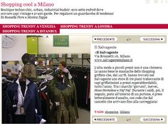 Dove fare #shopping cool a #Milano secondo Style.it