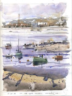 Interview with Artist Iain Stewart - Creative Catalyst Productions Watercolor Sketch, Watercolor Paper, Watercolor Paintings, Watercolors, What Do You Feel, Work Site, Types Of Painting, Small Paintings, South Of France