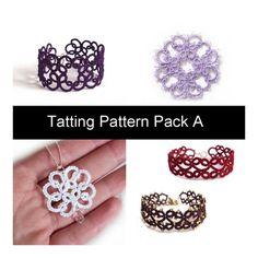 PDF Four Original Tatting Patterns - Pack A