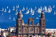 ¿Amas el mar y las regatas? en #GranCanaria cada ano son varios los eventos y iniciativas para los aficionados del sector - Foto de Juan Ramon Rodriguez