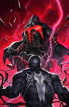 VENOM #27 InHyuk Lee Variant Cover Options | 7 Ate 9 Comics Venom Comics, Marvel Venom, Marvel Comics Art, Marvel Villains, Marvel Heroes, Marvel Characters, New Venom, Venom Art, Comic Books Art