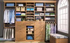 Do-It-Yourself Custom Closet Organizers Custom Walk In Closets, Walk In Closet Design, Closet Designs, Master Closet, Closet Bedroom, Home Decor Bedroom, Bedroom Ideas, Master Bedroom, Stand Alone Closet