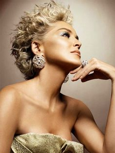 Glow!! Sharon Stone