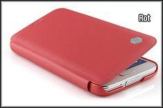 Samsung Galaxy S5 Handyhülle von original Urcover® in der Nilkin Flip Edition Galaxy S5 Schutzhülle Case Cover Etui & Displayschutz Folie [DEUTSCHER FACHHANDEL] Rot Red 6,90€