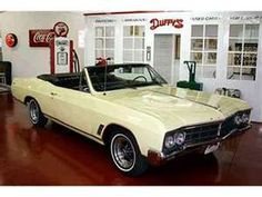 1966 Buick Skylark Convertible - This was almost my first car. My father and I were looking at one of these, but it appeared to have been in an accident and I ended up with a red VW Beetle instead. My Dream Car, Dream Cars, Vintage Cars, Antique Cars, Buick Cars, Buick Skylark, First Car, Vw Beetles, General Motors
