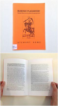 Bubonic plagiarism: Stewart Home on art, politics & appropriation, Stewart Home