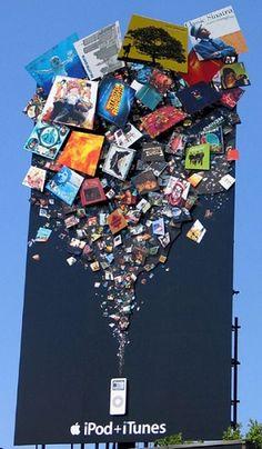 ipod / itunes billboard ad