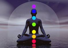 If you use a chakra balancing meditation, its a good idea to work ALL the chakras in that meditation, instead of just a few. This is so you can avoid imbalances in chakra energy flow. Les Chakras, Seven Chakras, Yoga Nidra, Therapeutic Essential Oils, Essential Oil Blends, Pranayama, Sanskrit, Chakra Du Plexus Solaire, Yoga Iyengar