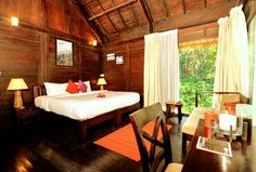 The most amazing resort in Coorg, with 360 degrees wooden cottages. http://www.meriyanda.com/