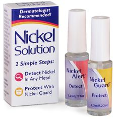 Nickel Guard - clinically proven nickel barrier - protect your skin!