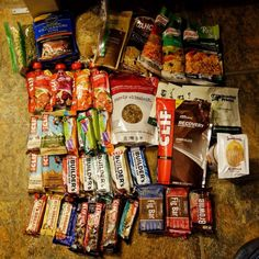 Packing It Out: Thru-Hiking Food And Logistics food to pack on pacific crest trail Hiking Food, Hiking Tips, Hiking Gear, Hiking Backpack, Camping And Hiking, Kayak Camping, Winter Camping, Travel Backpack, Travel Bags