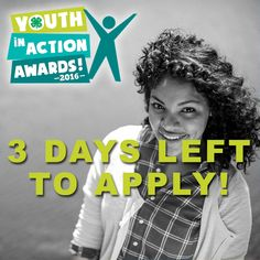 Are you making an impact in your community through #Citizenship? Apply for the 2016 #4HYouthinAction Awards for a chance to win up to $15,000 and serve as the national 4-H youth spokesperson for Citizenship! Apply TODAY: http://shout.lt/blZRK
