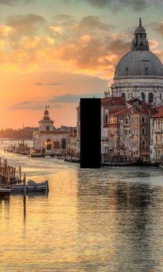Sunrise Venice Italy Light Switch Plate by SindyOriginalDecor.......