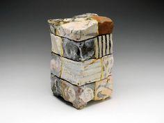 Artist: Goro Suzuki, Title: Yobitsugi Stacking Boxes, 2010