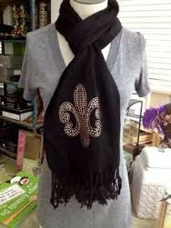 Image result for new orleans scarves
