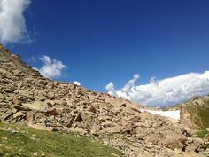 Rugged peak of Crested Butte