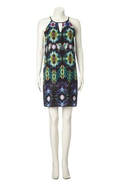 New in! Kosmische inspiratie van SET!  To the Moon and Back! We can't stop looking at the universe print on this dress. It's like travelling on board the Enterprise. Well, almost.