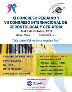 la Visión Gerontològica : LIMA:CONGRESO INTERNACIONAL DE GERONTOLOGÍA Y GERI...