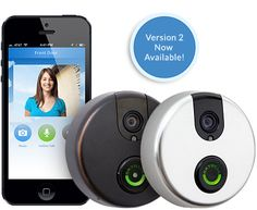SkyBell WiFi Doorbell - $199 - SkyBell is a smart video doorbell that allows you to see, hear, and speak to the visitor at your door whether you're at home, at work, or on the go.