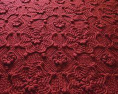 Priscilla's Crochet - - Orléans Matelassé Crochet Afghan