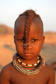 Faces of Namibia, Himba - by World_Discoverer, via Flickr