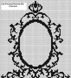Grille de miroir baroque