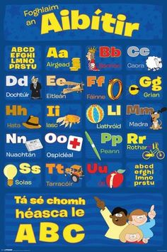 Alphabet in Gaelic Gaelic Symbols, Celtic Nations, Irish Language, Scottish Gaelic, Celtic Culture, My Heritage, Junk Journal, Journal Ideas, Scotland