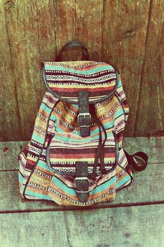 If my Mexican backpack and my Native American bag did the nasty, this is what would happen. Love it!