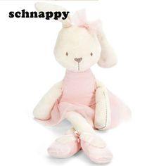 da4e9379044 Cute Stuffed Plush Rabbit Toy For Baby Girls Kids Soft Kawaii Toy Children  Big Bedding Pillow