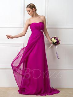 #AdoreWe #TBDress - #TBDress Sweetheart A-Line Bridesmaid Dress - AdoreWe.com