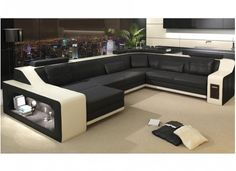 victus leather sofa lounge set - Sectional Leather Sofas