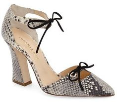 $575, Eugenia Kim Sharon Dorsay Pump. Sold by Nordstrom. Click for more info: https://lookastic.com/women/shop_items/437507/redirect