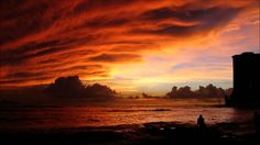 Find the best Dark Sunset Wallpaper on GetWallpapers. We have background pictures for you! Hd Landscape, Landscape Wallpaper, Beautiful Sky, Beautiful Places, Amazing Places, Amazing Photos, National Geographic Wallpaper, British Indian Ocean Territory, Red Sunset