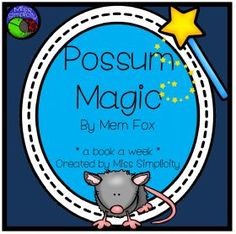 Home :: Grade / Year Level :: Primary Education :: Year 1 :: Possum Magic ~ A week of reading activities to accompany the story Reading Activities, Literacy Activities, Teaching Resources, Reading Words, Guided Reading, Talk 4 Writing, Possum Magic, Author Studies, Primary Education
