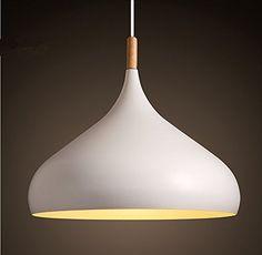 Moderne Pendelleuchte Hängeleuchte Anhänger E27 Fassung LED Deckenleuchte Beleuchtung Heimspiel für Dinning Wohnzimmer Schlafzimmer (Weiß): Amazon.de: Beleuchtung