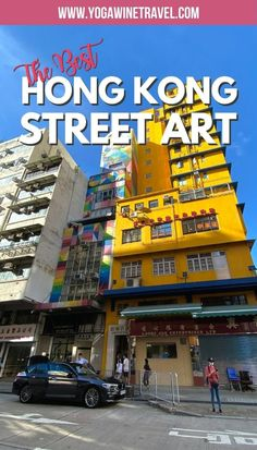 Over the past few years, street art has truly taken off in Hong Kong. The appearance of mainstream street art is a relatively new phenomena and culture in this metropolitan city, with many local and international artists leaving their mark in the form of captivating murals - there's nothing cookie-cutter about the street art pieces in Hong Kong! Here are some neighborhoods rich in street art culture in Hong Kong that you won't want to miss. China Travel, India Travel, Japan Travel, Best Street Art, Amazing Street Art, Travel Guides, Travel Tips, Best Graffiti, Where To Go