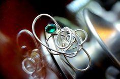 Karma Ring with Gemstone  By Meral Saatci