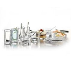 FIFTH AVENUE CRYSTAL Lugano 25-Piece Mixed Taster Set
