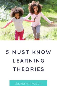 Ever wondered how does your kids brain works? Children, just like the adults, learning for them  never stops. Here are 5 theories of learning: Behaviorism, Cognitivism, Constructivism, Schema Theory & Multiple Intelligences. Learn more! #theoriesoflearning #learningforkids #learningtheorieseducation #learningtheorieseducation