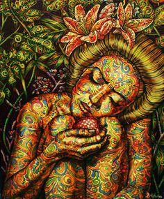 "Saatchi Online Artist: Jekaterina Razina; Oil, Painting """"Portrait"""""