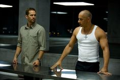Paul Walker y Vin Diesel - Brian O'Conner y Dominic Toretto