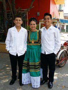 Madre e hijos #tehuantepecoaxaca