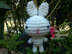 Small Bunny free crochet pattern – Abby's Amigurumi ♥